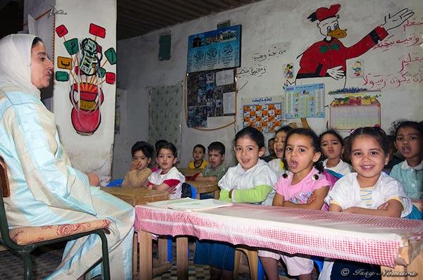 モロッコの学校