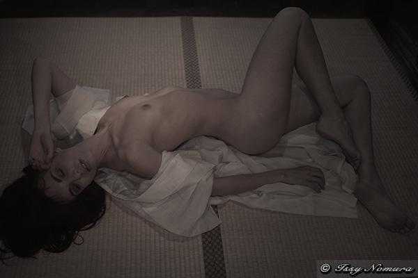 semi-nude