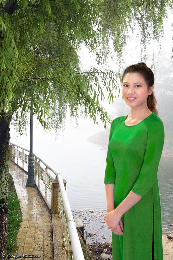 べトナム 女学生 アオザイ